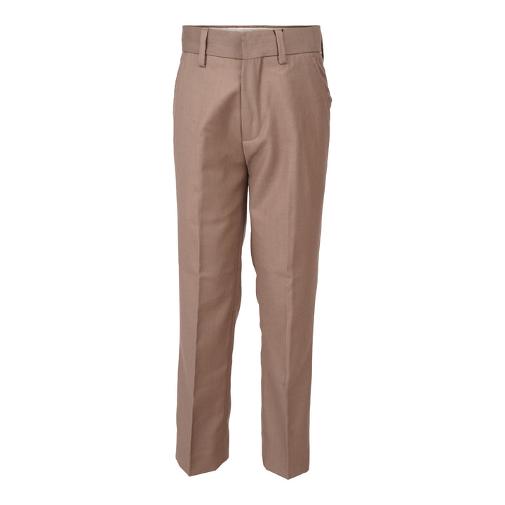 FLAT FRONT TAILORED DRESS PANT