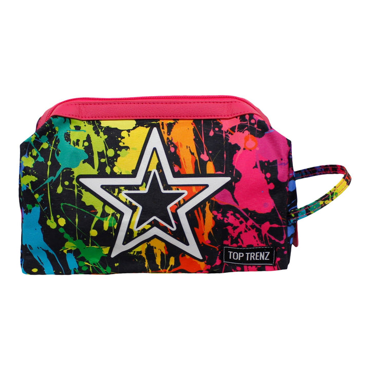 Splatter Cosmetic Bag
