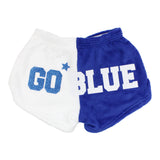 Go Blue Short Color Block