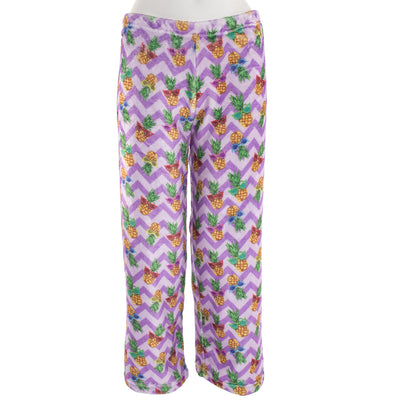 Chevron Pineapple Plush Pant