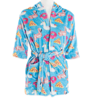 Flamingo Unicorn Plush Robe