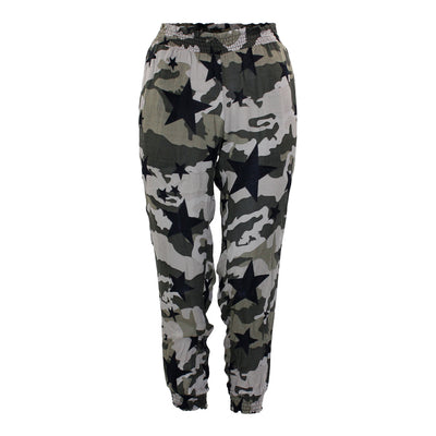 Cover Up Pants with Camo Stars