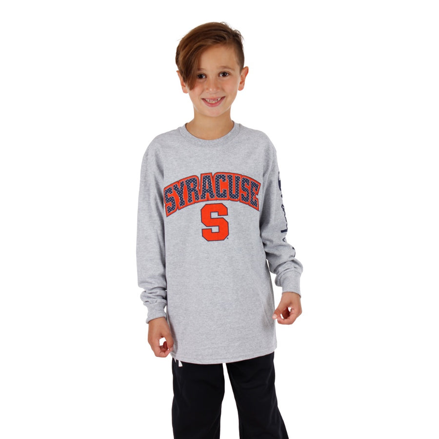 Long Sleeve Champion Syracuse Tee