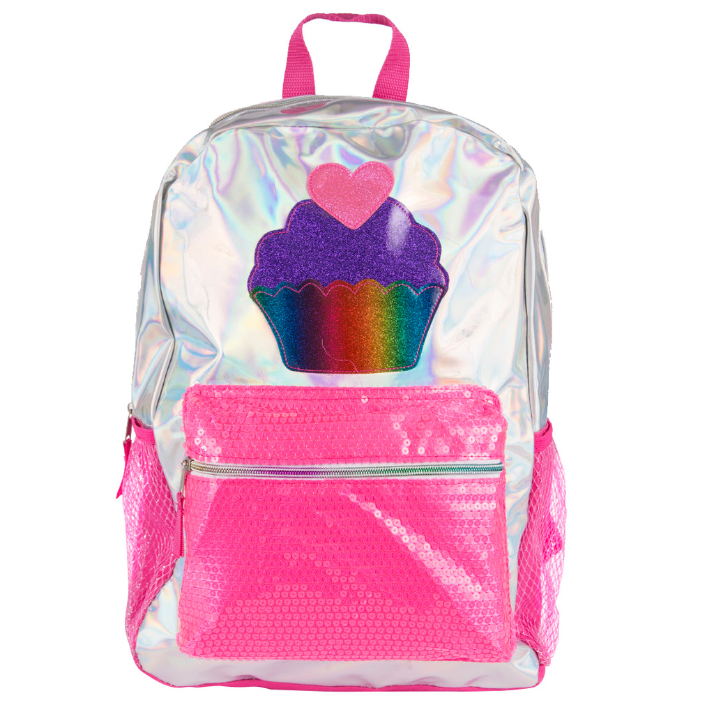 Cupcake Sparkle Backpack
