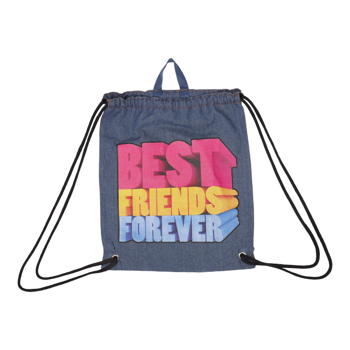 Best Friends Forever Drawstring Bag