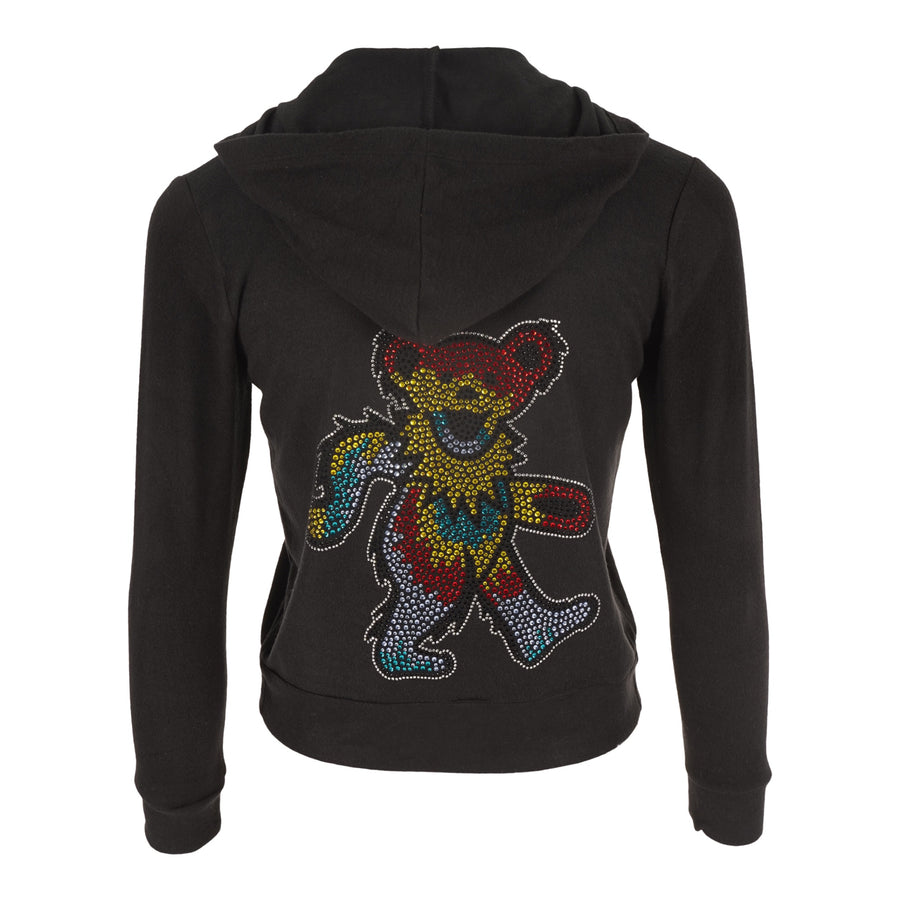 Zip Hoody with Grateful Dead Stones