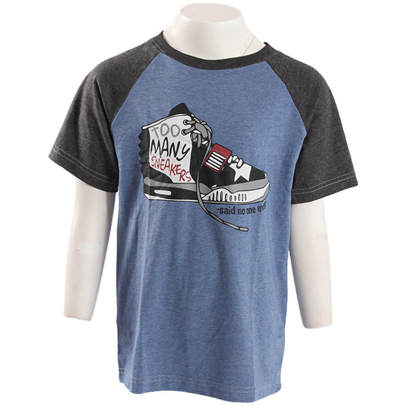 Too Many Sneakers Raglan