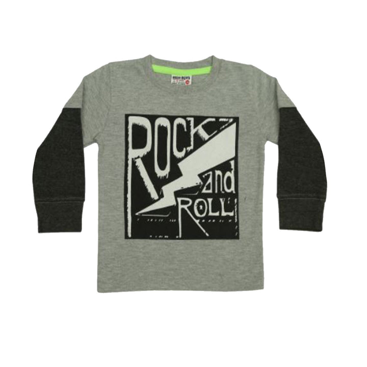 Rock and Roll Long Sleeve Tee