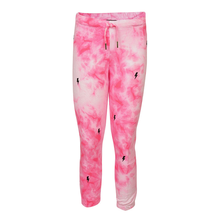 Black Bolt Tie Dye Sweatpant