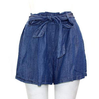 Denim Tie Short