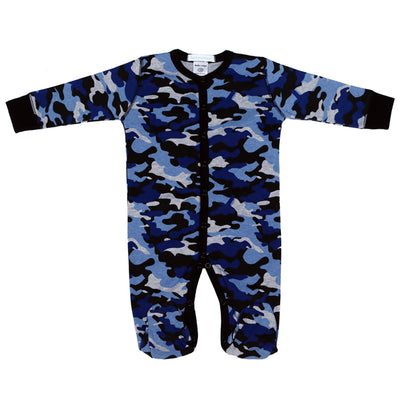 Footie Navy Camo
