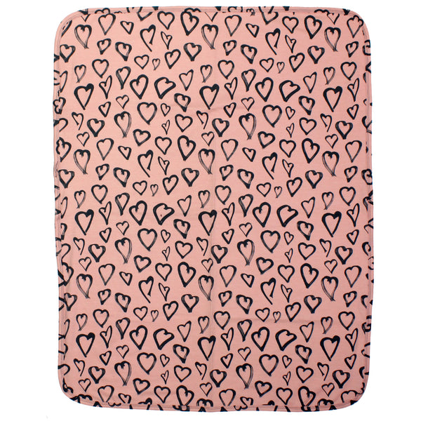 Blanket Blush with Hearts