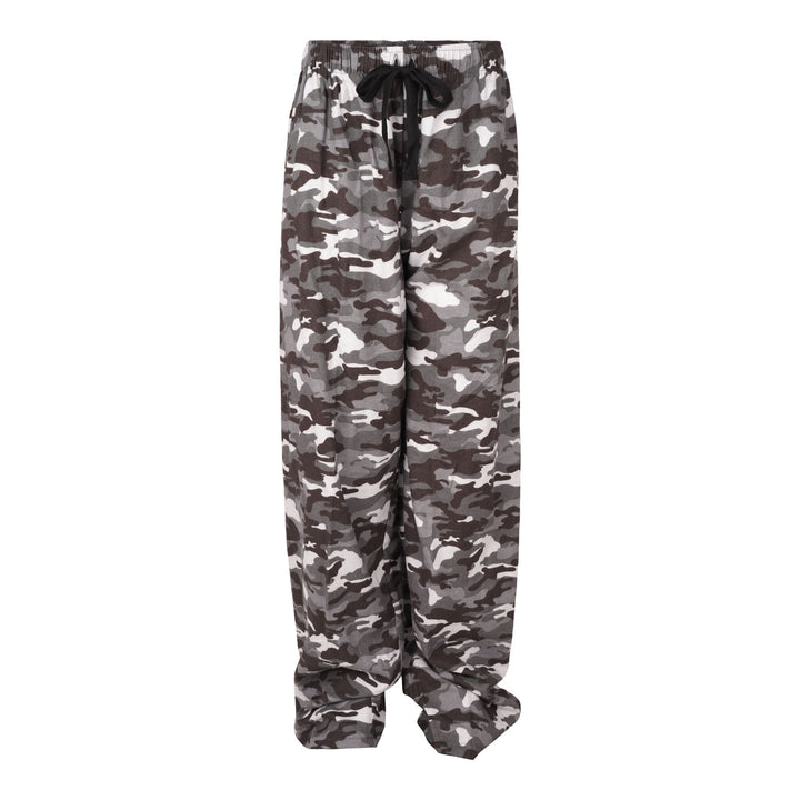 Gry/Camo Adult Flannel Pant