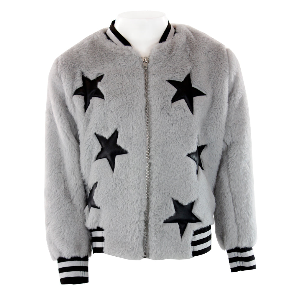 Fur Bomber with Stars
