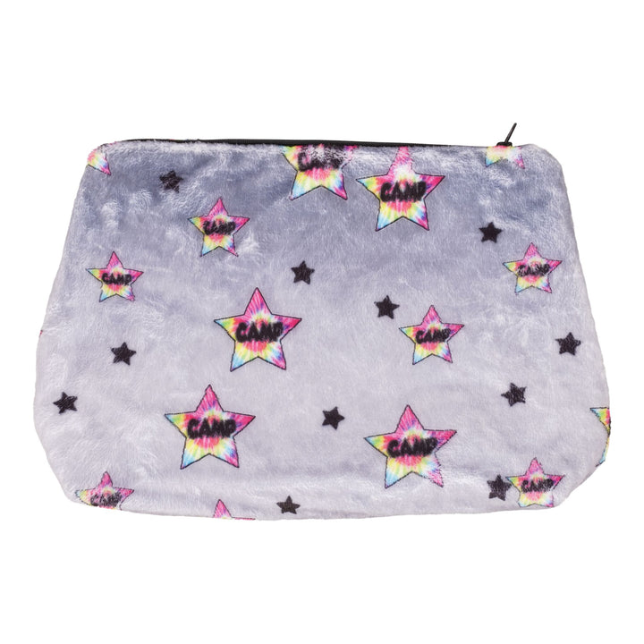 Fuzzy Lg Cosmetic bag Ombre Camp T/D Star Classic
