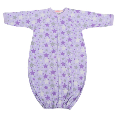 Converter Gown with Lilac Stars