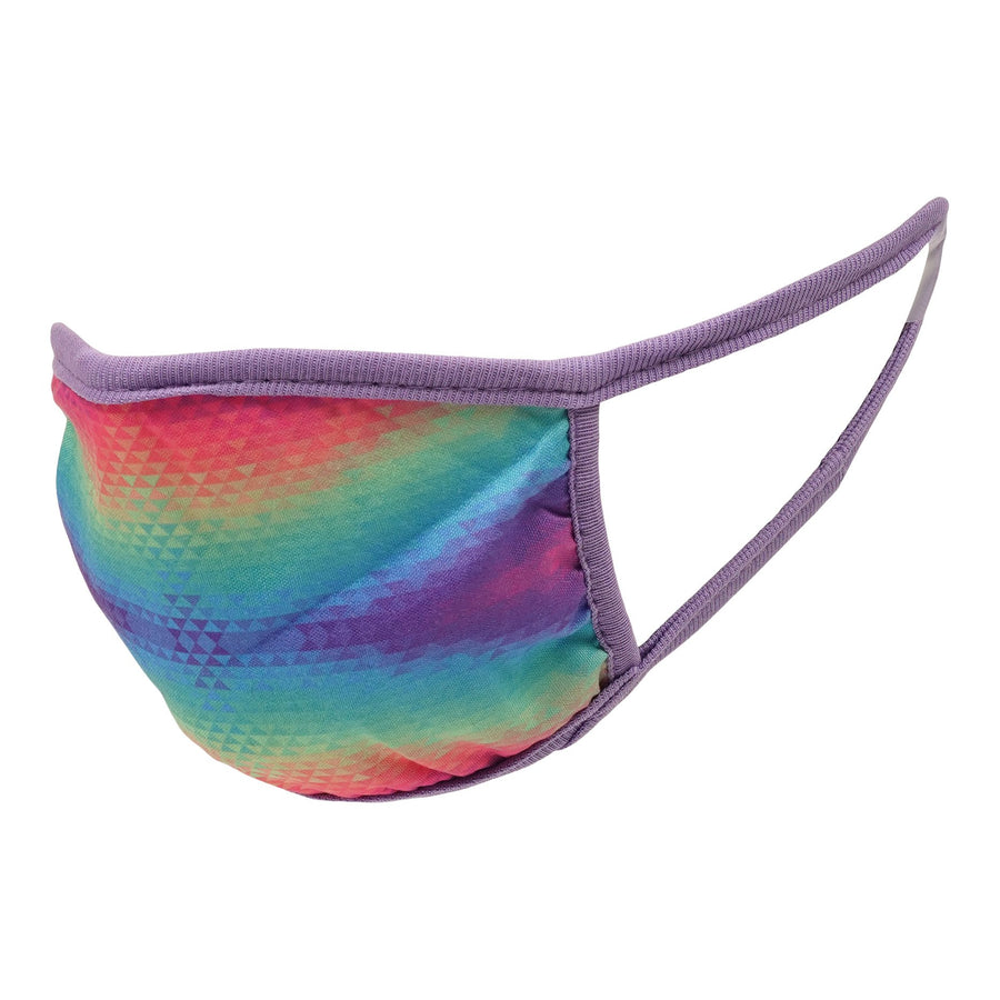 Girls 5 pack Face Mask Lips Tie Dye Assorted