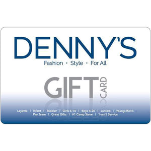 In-Store & Online Gift Card $36