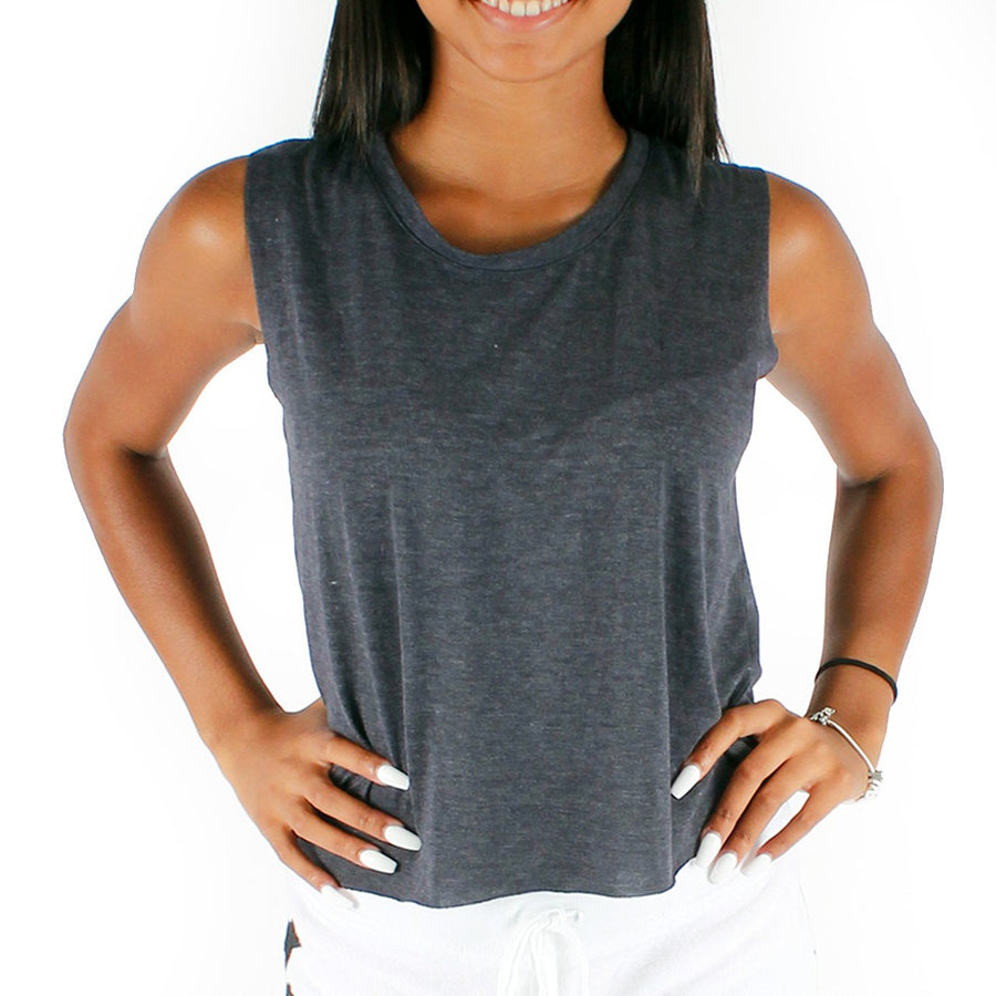 Sleeveless Crop Tank