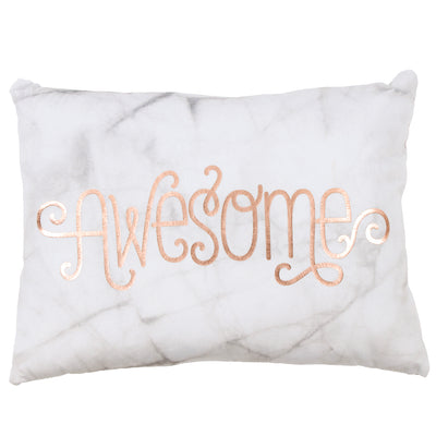 Soft Pillow with Awesome