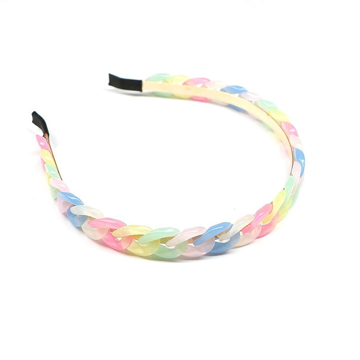 Plastic Chain Hard Headband