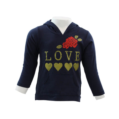 Long Sleeve Hi Lo Love Roses