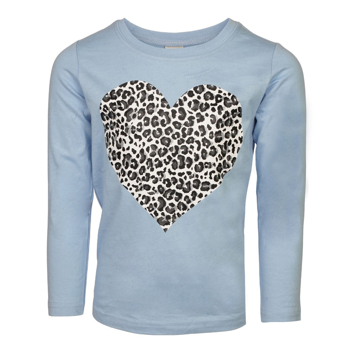 Leopard Heart Long Sleeve Shirt