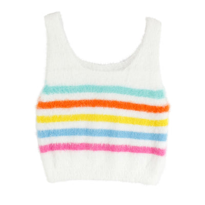 Stripe Sweater Tank