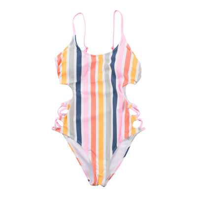 Baja Stripe One Piece Swimsuit