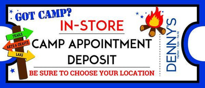 Girl In-Store Camp Appointment Deposit $100