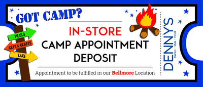 In-Store Camp Appointment Deposit 2019