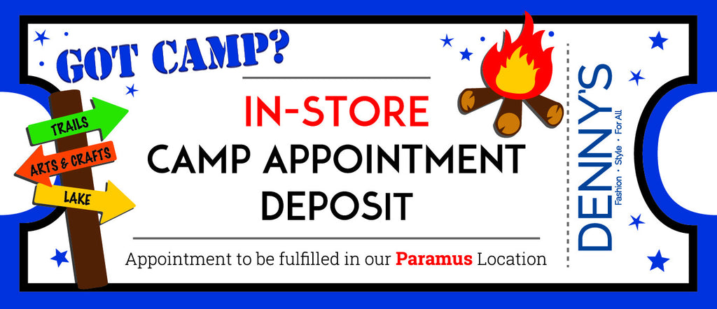 In Store Camp Appointment Deposit