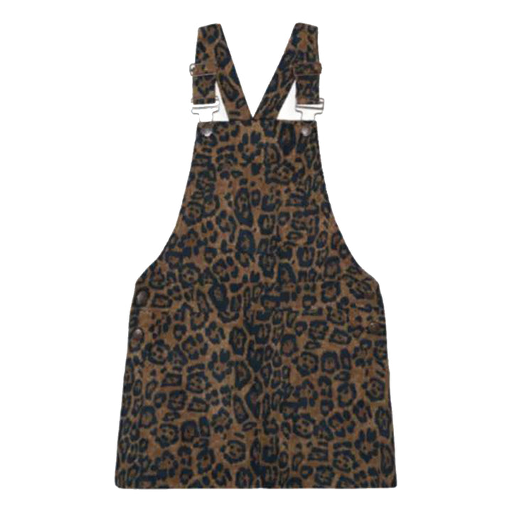 Leopard Courduroy Riley Dress
