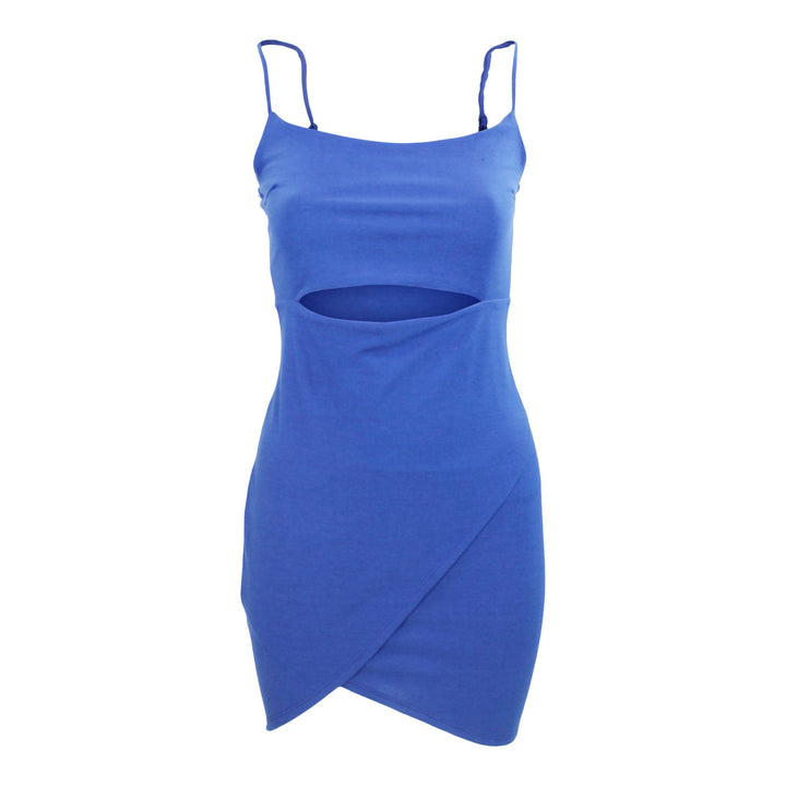 Cut Out Wrap Mini Dress