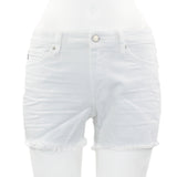 Cut Off White Short
