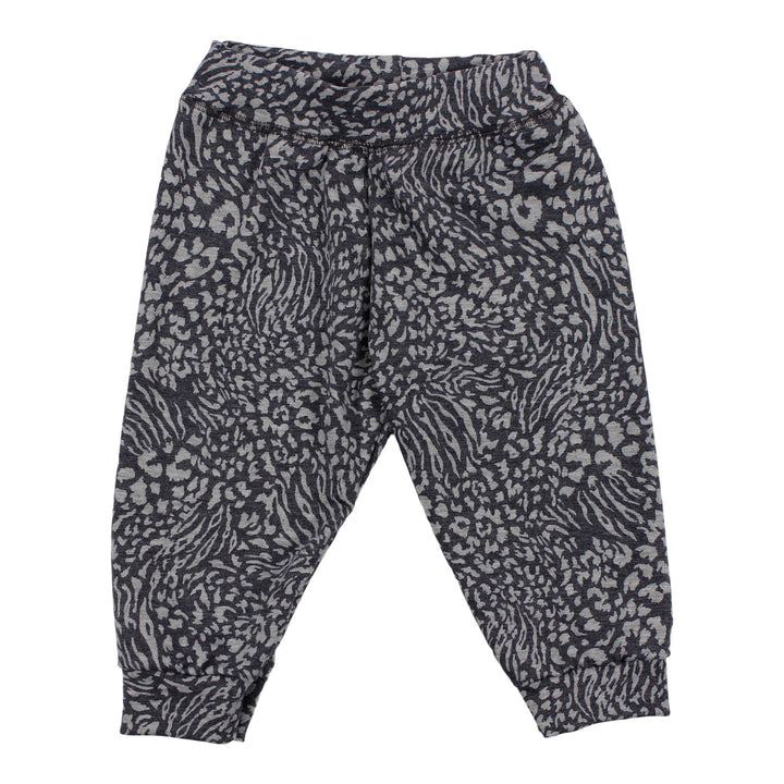Jog Pant Grey Cheetah