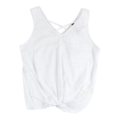 Burnout Tank with Criss Cross Front
