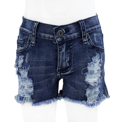 Super Ripped Denim Shorts