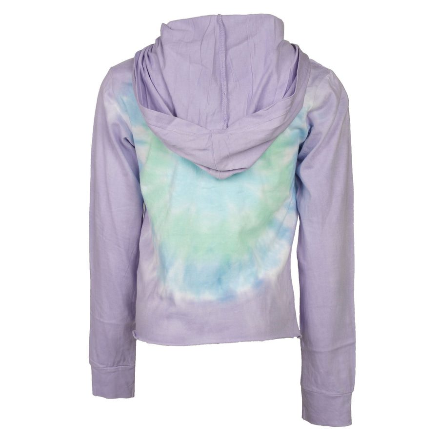 Long Sleeve Crop Hoody Oceanic