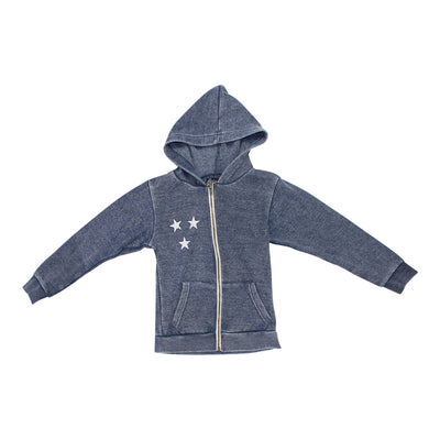 Zip Hoody  with Camp Stars