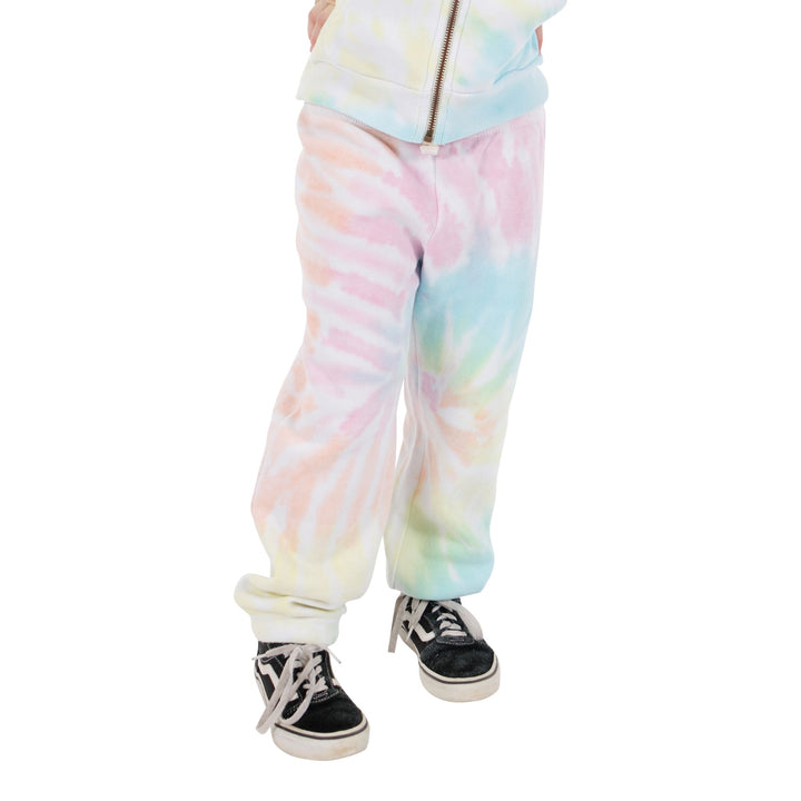 Sorbet Swirl Tie Dye Scrunch Bottom Sweatpant