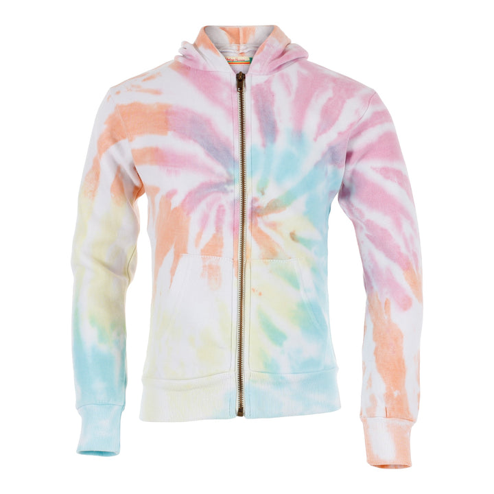 Sorbet Zip Hoody Burnout