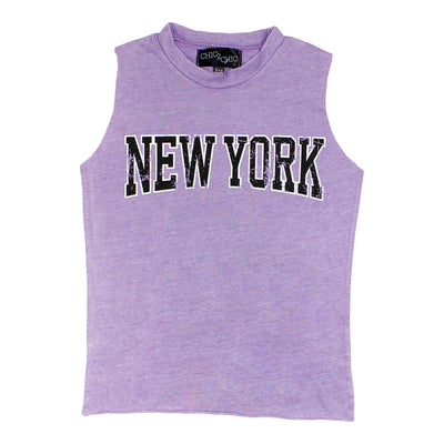 Sleevesless Tank with New York