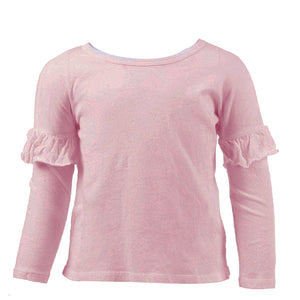 Long Sleeve Ruffle Thermal