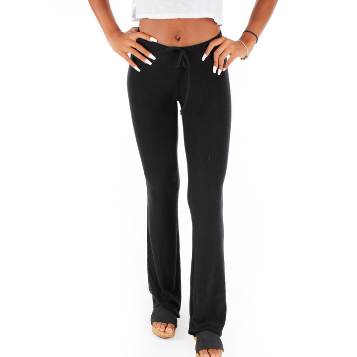 Basic Tennis Club Solid Flare Sweatpant