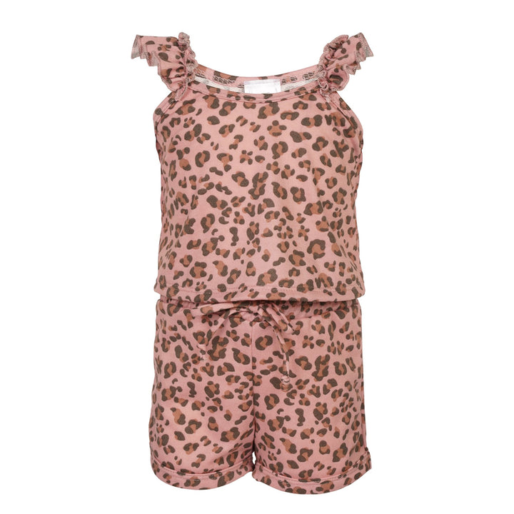 2pc Leopard Tank & Short Set
