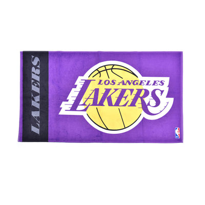 Lakers On Court Bench Towels