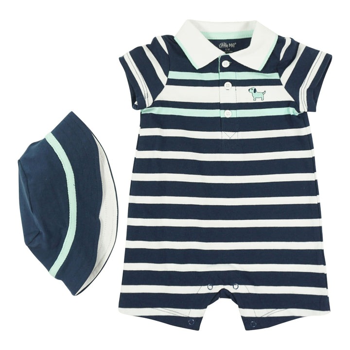 2pc Romper Stripe