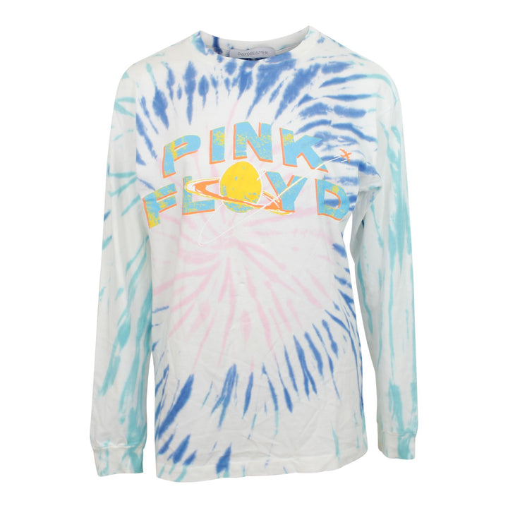 Long Sleeve Pink Floyd Goodboy Blue Tie Dye Tee
