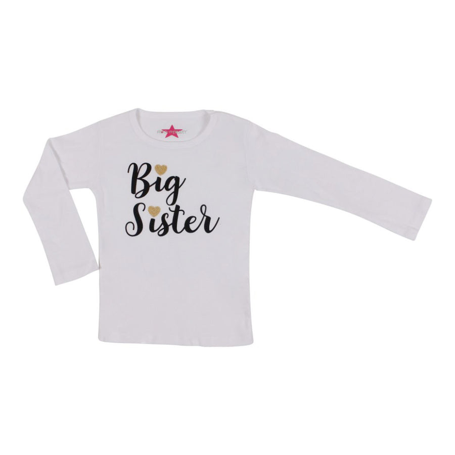 Long Sleeve Tee with Big Sister